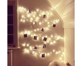 LED-es Égősor- Csipesszel