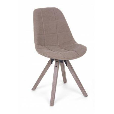 Amor kárpitozott szék - barna