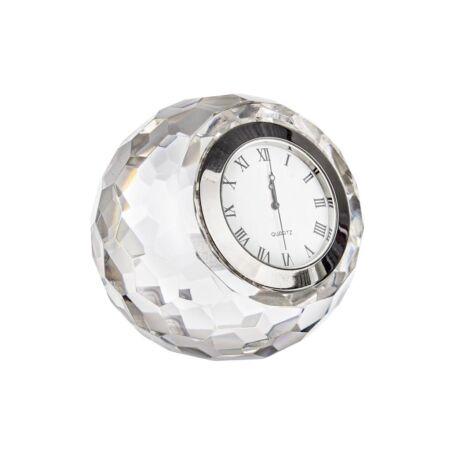 MIRAGE üveg asztali óra