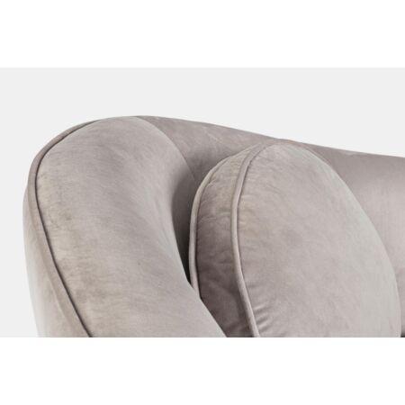 Rebeca kanapé világos szürke