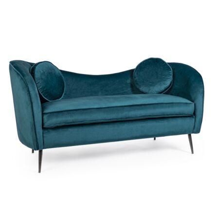 Rebeca kanapé sötétzöld