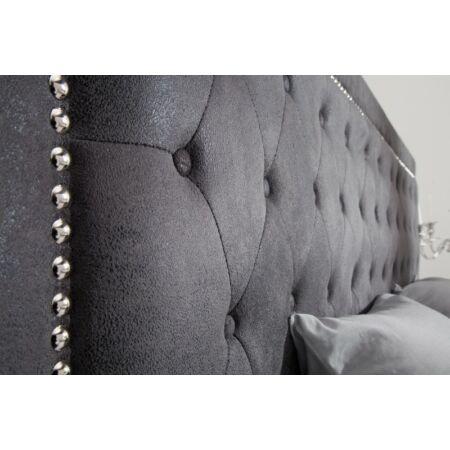 Florine antik szürke ágy - 200 cm