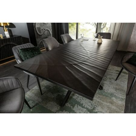 Galaxy fekete étkezőasztal - 200 cm