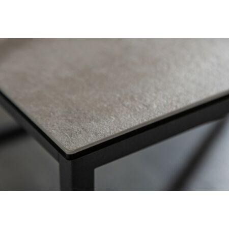 Lea szürke dohányzóasztal - 100 cm