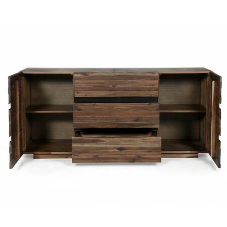Luisa akác szekrény - 170 cm