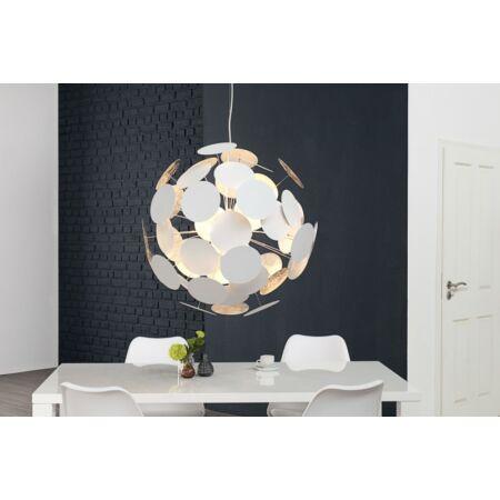 Infinity függesztett lámpa 70 cm - fehér