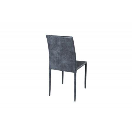 Freja bársony szék - sötétszürke