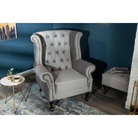 Noble fotel - világosszürke