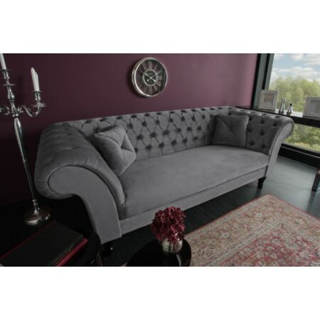 Noble kanapé - sötétszürke 225 cm