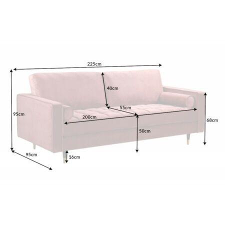 Angster kanapé - rózsaszín