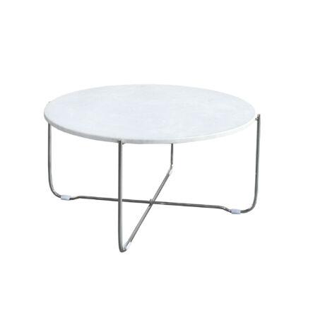 NIRA fehér márvány dohányzóasztal