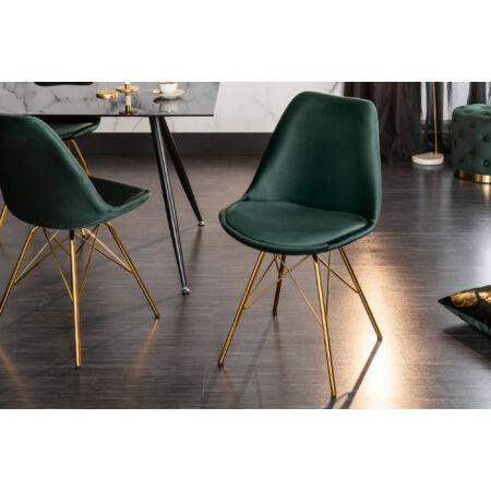 MILLA szék - sötétzöld