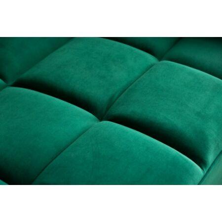FFulda bársony kanapé - smaragdzöld