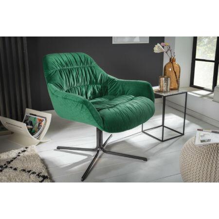ASSEN fotel - smaragdzöld