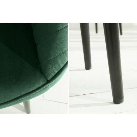 BERTILLE bársony szék