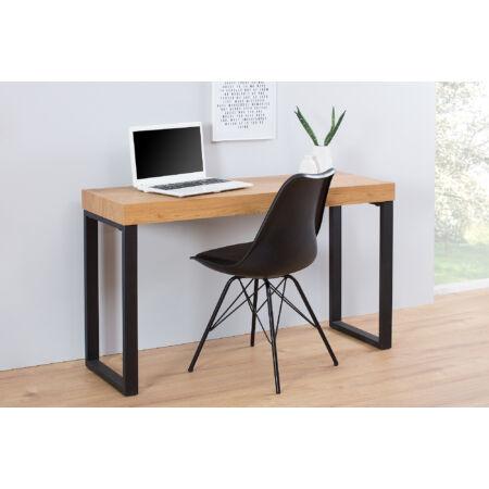 SEATTLE dolgozóasztal - tölgyfa - fekete