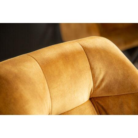 TIVOLI fotel - mustársárga