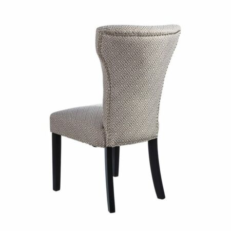 Otilia mintás szék - bézs