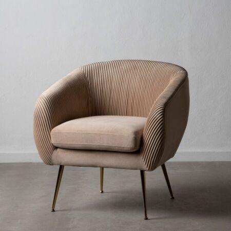 BROX fotel - bézs