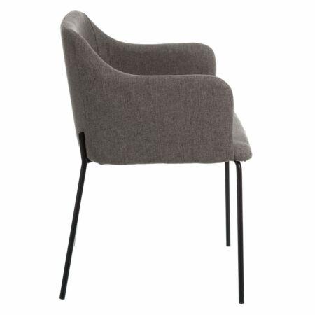 Gracia szék - szürkésbarna