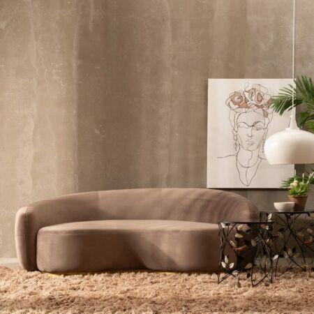 Ander prémium kétszemélyes kanapé - 188 cm - bézs