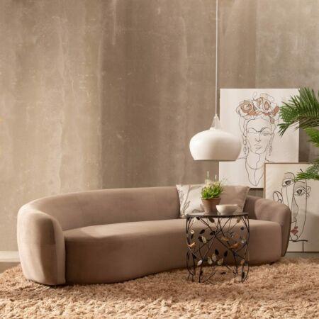 Ander prémium háromszemélyes kanapé - 236 cm - bézs