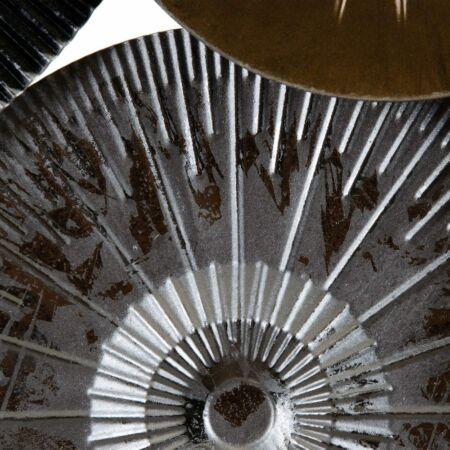 Lorena ezüst-bronz-fekete fali dekoráció - 160 cm