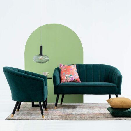 Esmera fotel - zöld