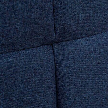 Elena sötétkék ágy - 200 cm