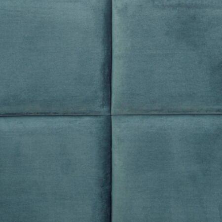 Lara bársonyos ágy 200 cm - türkiz