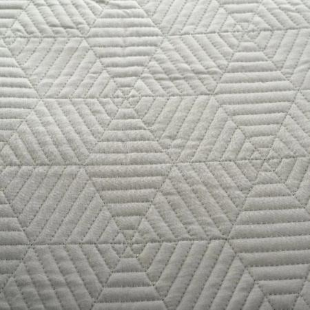 Ágytakaró - Szürkés- khaki színben