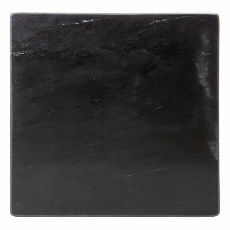 Rosalie arany dohányzóasztal fekete márvány asztallappal - 50 cm