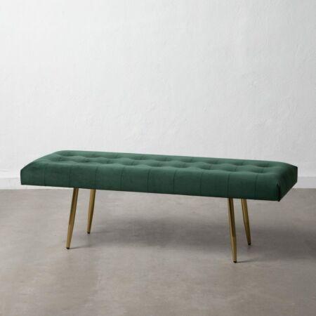 ARIA bársony pad zöld