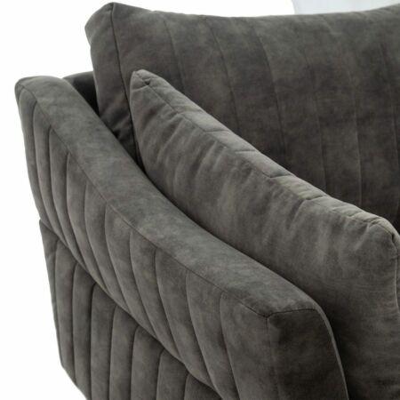 NORA 3 személyes kanapé mohazöld