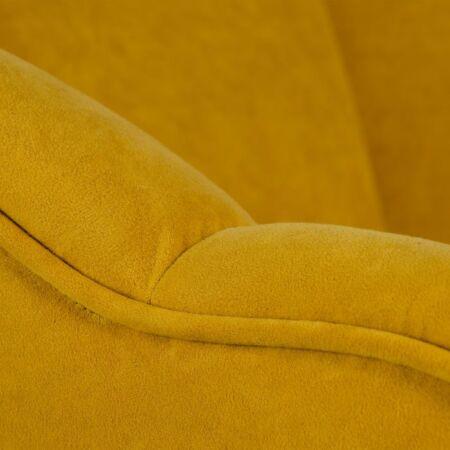 SPA fotel - mustársárga