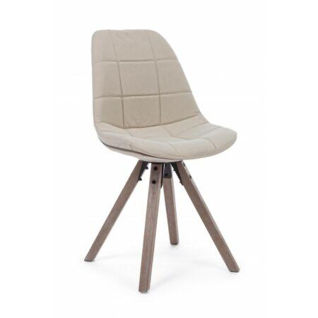 Amor kárpitozott szék - bézs
