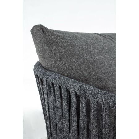Florencia kerti kanapé - sötétszürke