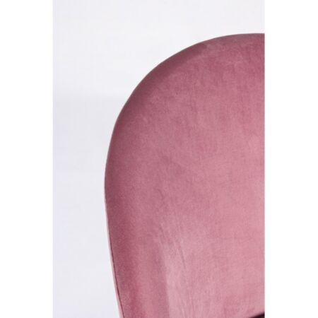 Tamara bársony bárszék - rózsaszín