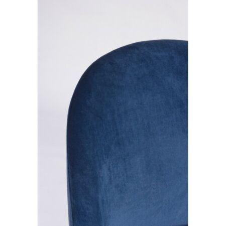 Tamara bársony bárszék - kék