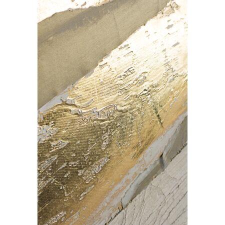Lage olajfestmény arany fóliával 90x120 cm