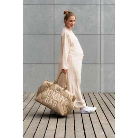 Mommy Bag táska bézs pufi