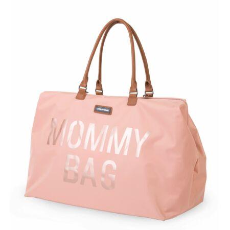 Mommy Bag táska rózsaszín réz