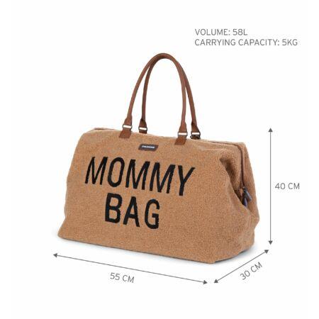 Mommy Bag táska barna plüss