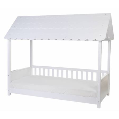 Házikó ágy tetővel 90x200 cm