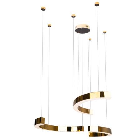Lotus függeszték LED arany