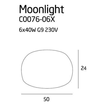 Moonlight mennyezeti lámpa