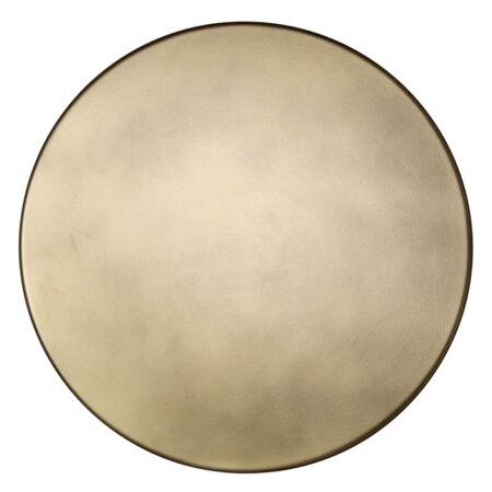Rixo fekete-arany dohányzóasztal szett - 45 cm