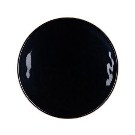 Candy fekete - arany dohányzóasztal - 49,5 cm