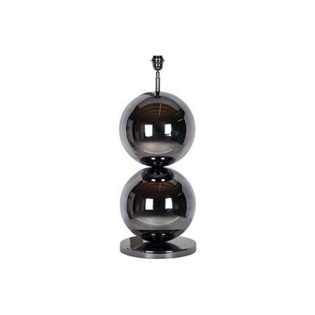 Bobbie fekete asztali lámpa - 77 cm