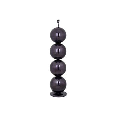 Adney fekete állólámpa - 137 cm
